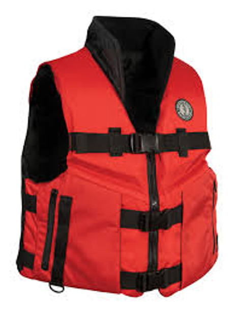Mustang Accel100 PFD Red Black X Large