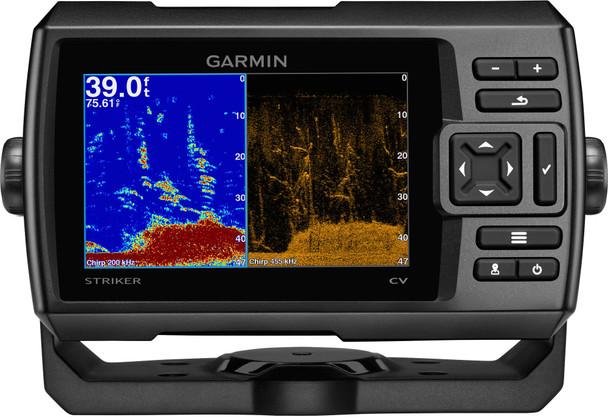 Garmin Striker Plus 5CV c/w GT20-TM  Transducer