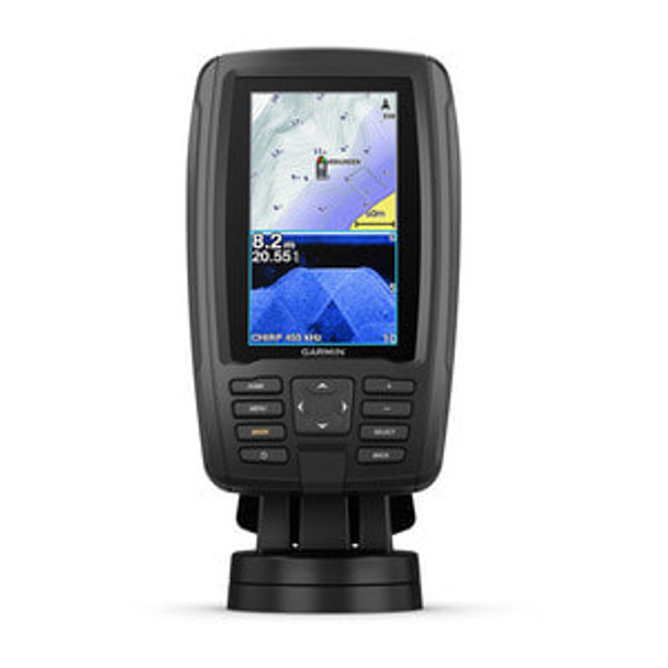 Garmin Echomap Plus 45cv C/w Cv20tm Transducer & Canada Lake Vu hd