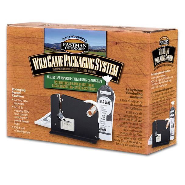 Eastman Wildgame Packaging System Tape Dispenser, Tape, Bags