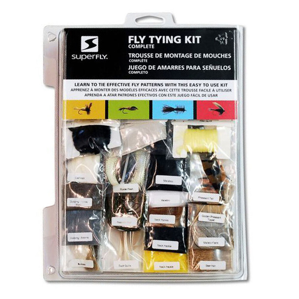 Superfly Complete Fly Tying Kit