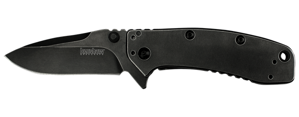 Kershaw 1556BW Cryo Blackwash