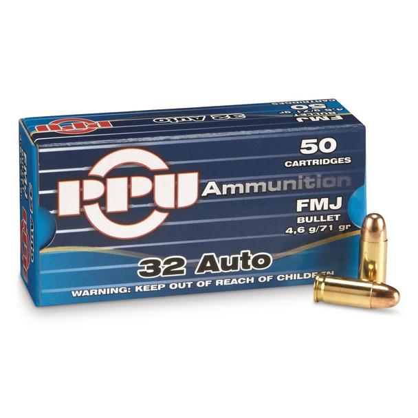 PPU 32 Auto 71gr Box/50