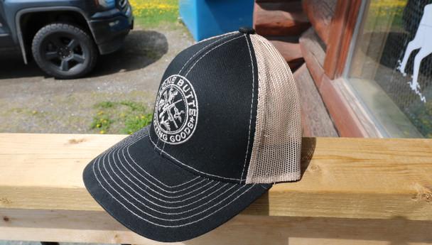 Outdoor Cap Lone Butte Sporting Goods Black/Tan