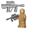 Minifigure Gun - Austrian Bull Pup