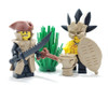 Custom LEGO® Horns - Tribal Horns (Pair)
