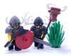 Custom LEGO® Horns - Crescent Horns (Pair)