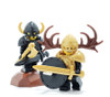 Custom LEGO® Horns - Crescent Horns (Pair)