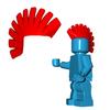 Minifigure Hair - Mohawk