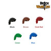 Custom LEGO® Hair - Mohawk