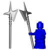 Minifigure Weapon - City Watch Halberd