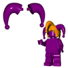 Minifigure Plumes - Jester Plumes (Pair)