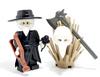 Custom LEGO® Armor - Plague Doctor Coat