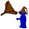 Minifigure Hat - Wizard Hat