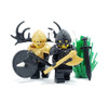 Custom LEGO® Horns - Moose Antlers