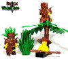 Custom LEGO® Weapon - Lizardman Sword