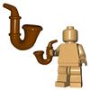 Minifigure Accessory - Gentleman's Pipe
