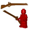Minifigure Gun - Flintlock Musket