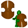 Minifigure Shield - Arabian Shield