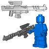 Minifigure Gun - Silent Death Sniper