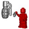 Minifigure Explosives - Frag Grenade