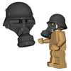 Custom LEGO® Helmet - German Gas Mask