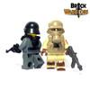 Custom LEGO® Helmet - German Gas Mask