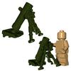 Custom Minifigure Explosives - Mortar Tube