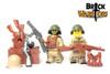 Custom LEGO® Helmet  - Soviet Helmet