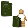 Custom Minifigure Accessory - Gas Can
