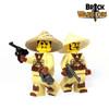 Custom LEGO® Helmet - Straw Hat