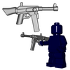 Minifigure Gun - French SMG