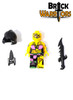 Custom LEGO® Minifigure - Stitch Pack Contents