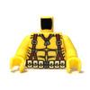Custom Printed Minifigure Torso - Mortar Man