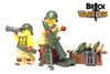 Custom Printed LEGO® Torso - Mortar Man