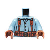 Custom Printed Minifigure Torso - French Infantry