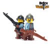 Custom Printed LEGO® Torso - French Infantry
