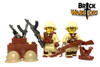 Custom LEGO® Torso - Japanese Infantry Torso