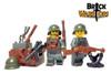 Custom LEGO® Torso - Italian Infantry Torso