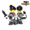 Custom LEGO® Minifigure - German Scientist Arm Printing