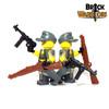 Custom LEGO® Minifigure - Female German Soldier Arm Printing