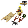 Injured US Soldier Custom Minifigure Accessories