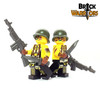 Custom LEGO® Minifigure - Female US Soldier Arm Printing