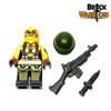 Custom LEGO® Minifigure - Female US Soldier