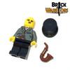 Custom LEGO® Minifigure - Silent Film Star