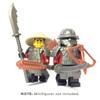 BrickWarriors Samurai Minifigure Accessories