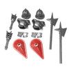 BrickWarriors City Watch Guard Minifigure Accessories