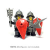BrickWarriors City Watch Guard Minifigure Accessories