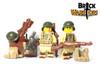 Custom Printed LEGO® Legs - US Infantry Legs