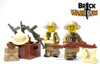 Custom Printed LEGO® Legs - British Infantry Legs